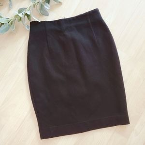 BYBLOS, Made in Italy Wool Spandex Pencil Skirt